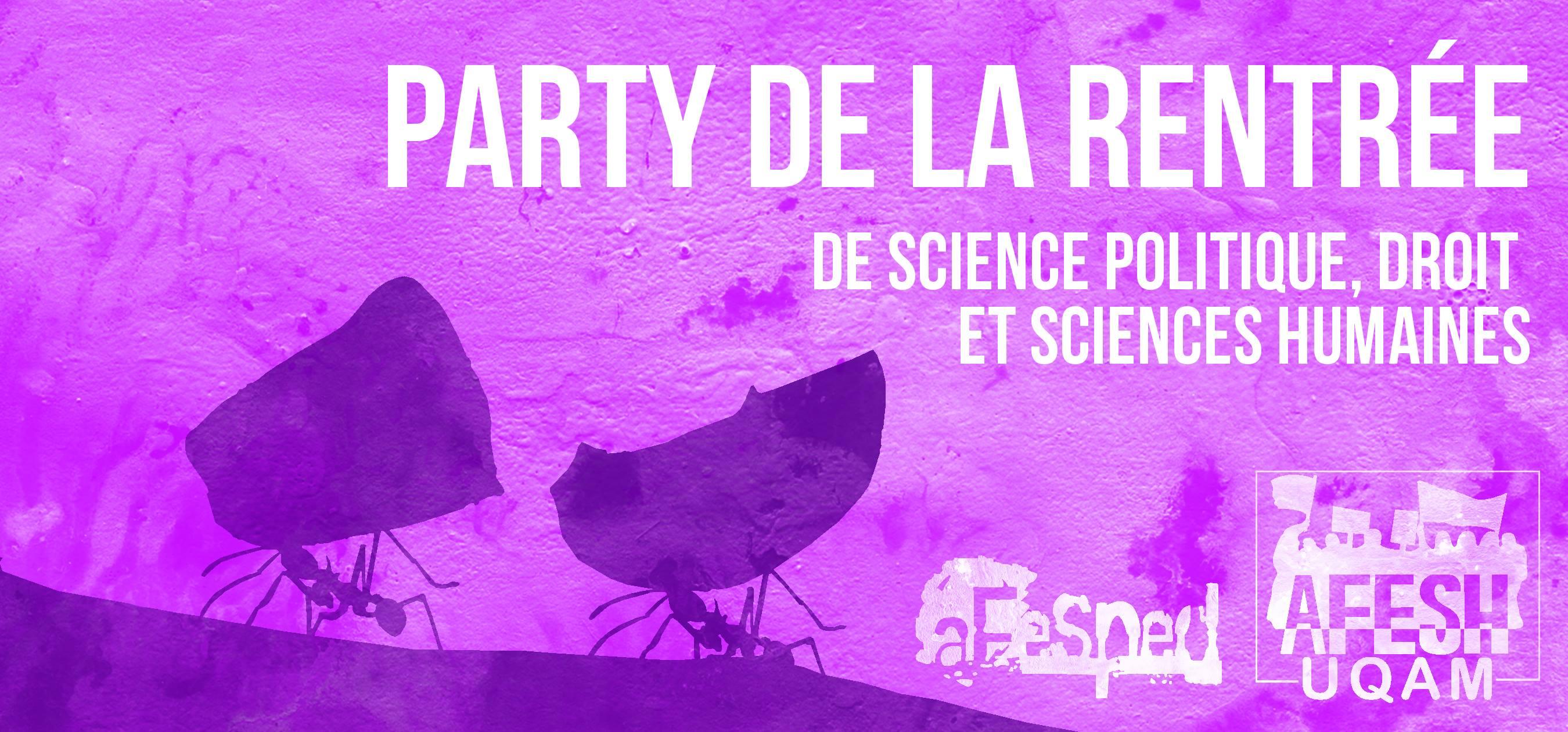Party De La Rentrée!