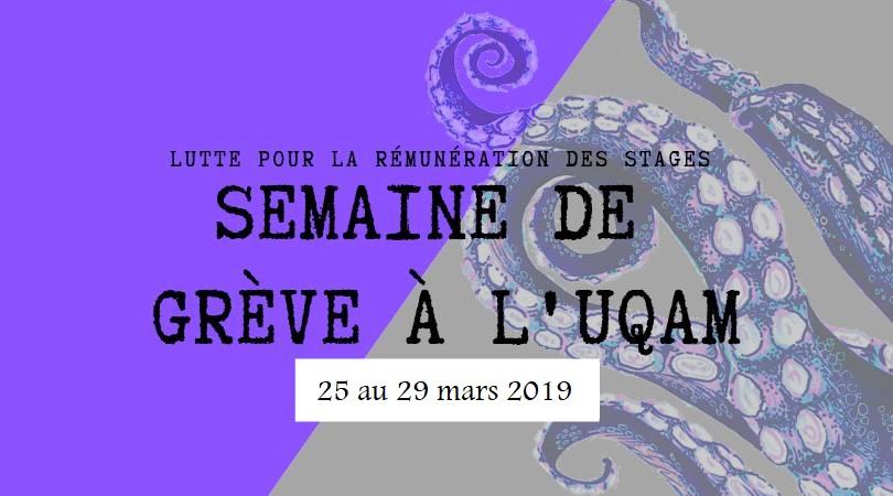 Grève Du 25 Au 29 Mars ; 2 Avril 2019